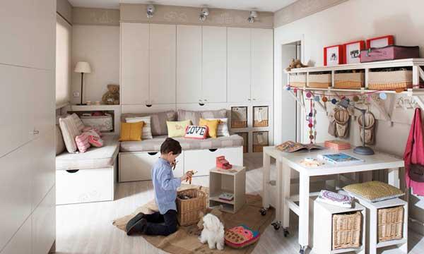 Ordenar el cuarto infantil for Recoger muebles