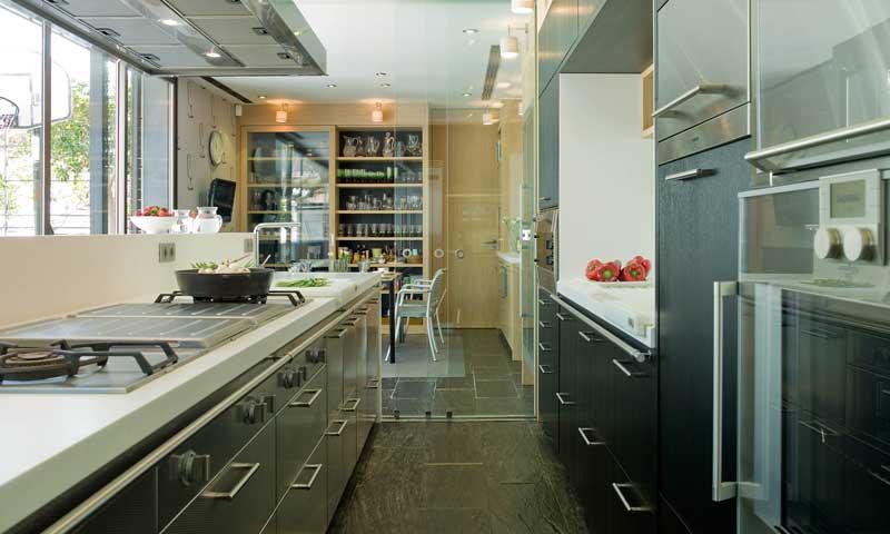 Cocinas a imagen y semejanza de las profesionales for Instrumentos de cocina profesional