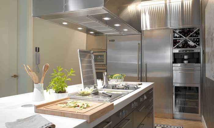 Cocinas a imagen y semejanza de las profesionales for Decoracion cocinas 2016