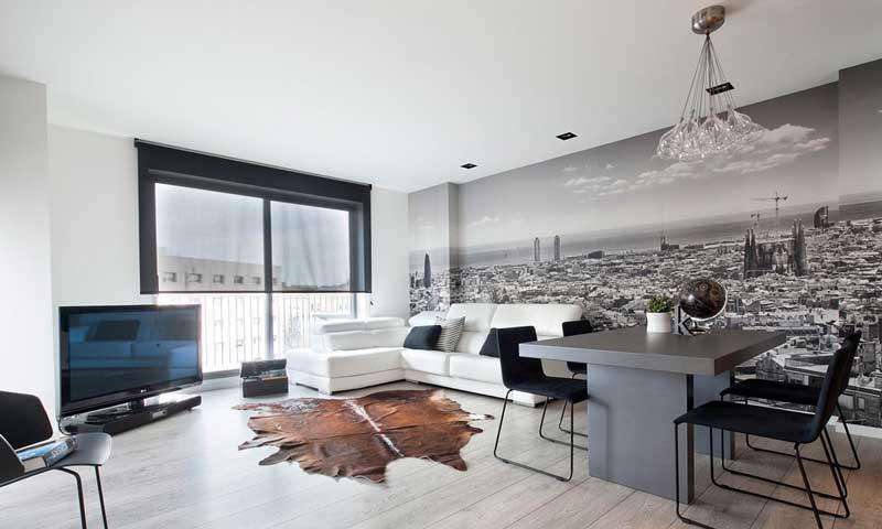 Un tico minimalista y cosmopolita foto 1 for Lujo interiores minimalistas