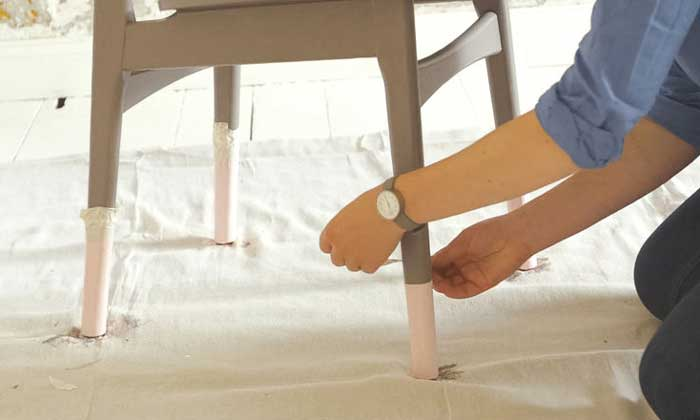Actualiza tus sillas con el efecto 'sumergido' en rosa 'quartz'