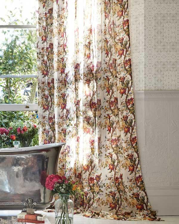 Operaci n cambio de cortinas qu se lleva esta primavera - Cortinas estampadas para salon ...