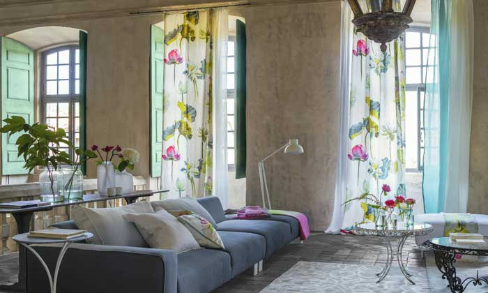 Operaci n cambio de cortinas qu se lleva esta primavera - Ultimas tendencias en cortinas ...