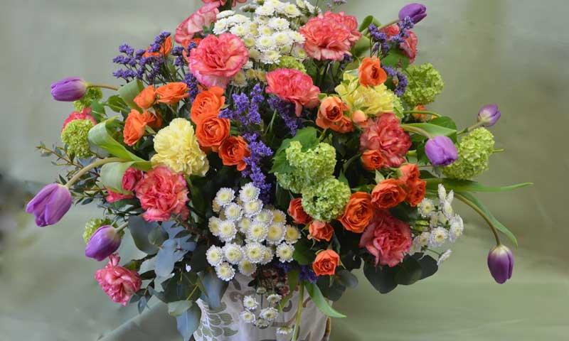 Diy Aprende A Realizar Ramos De Flores Primaverales - Fotos-ramos-de-flores