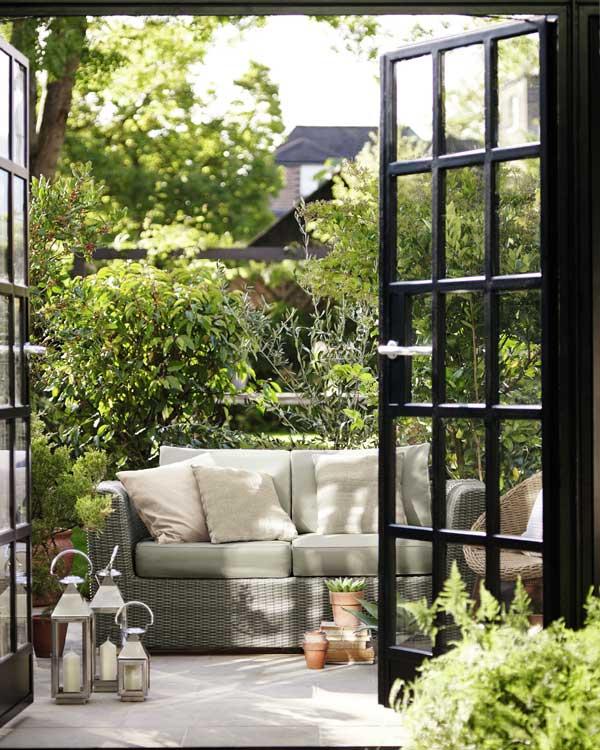 Habilitar la terraza o el balc n para el verano - Como disenar una terraza jardin ...