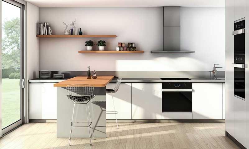 Cocinas dise ar un 39 office 39 c modo y pr ctico foto - Cocinas office pequenas ...