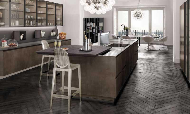 Cocinas dise ar un 39 office 39 c modo y pr ctico foto - Decorar office cocina ...