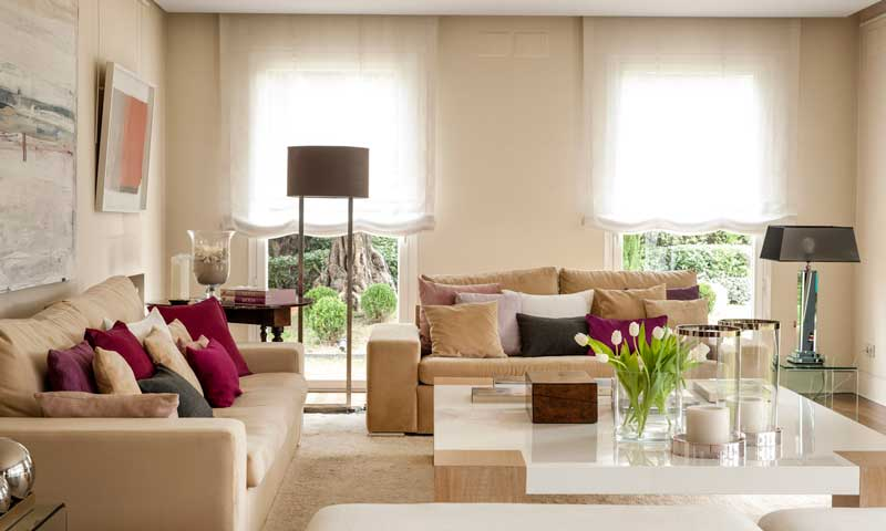 Claves de estilo para decorar tu casa for Como decorar el living de tu casa