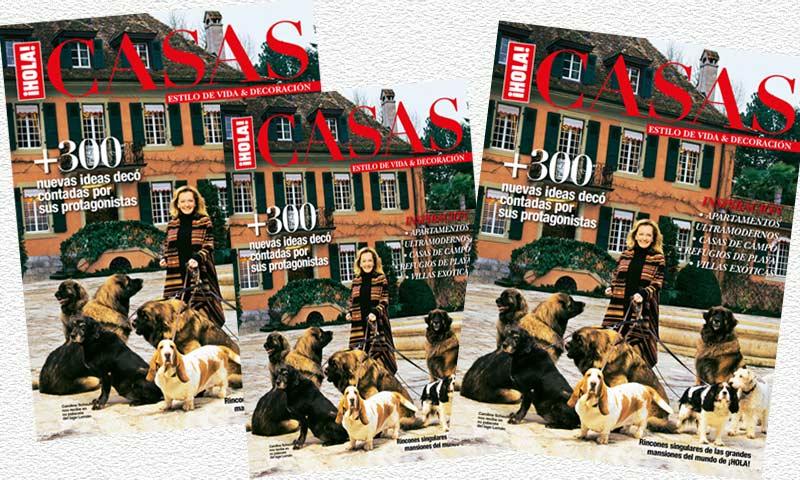 Ya está a la venta el nuevo 'Especial Casas' de ¡HOLA!