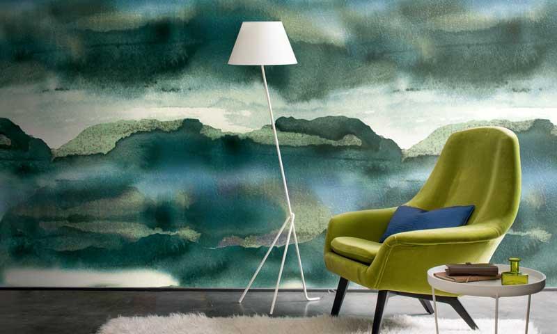 La decoraci n no pierde los papeles pintados foto for Papeles pintados paisajes