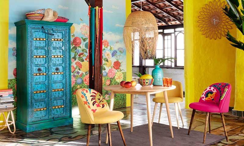 Viva m xico y su decoraci n alegre atrevida y apasionada for Decoracion de interiores estilo mexicano