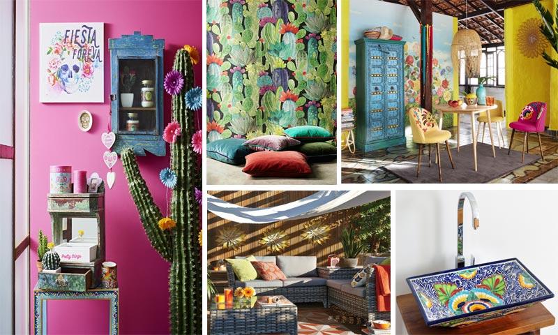 C mo dar un toque mexicano a tu casa foto for Decoracion de interiores estilo mexicano