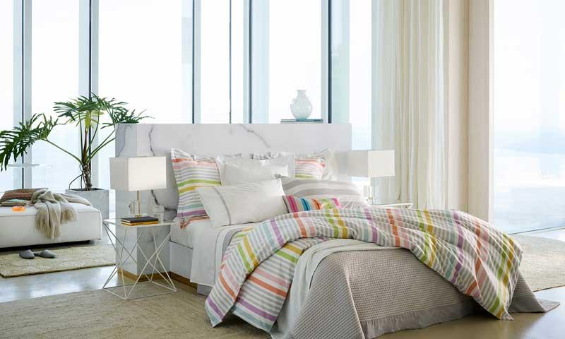 Cabeceros el otro lado de la cama foto - Zara home marbella ...