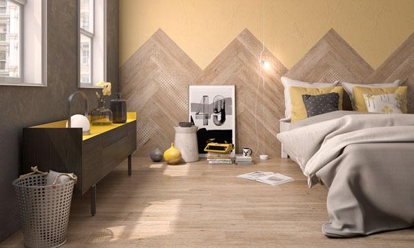 Paredes con personalidad - Materiales para forrar paredes interiores ...