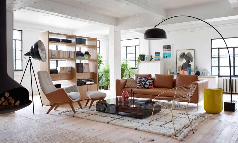 El cuero viste la casa esta temporada - Habitdesign muebles ...