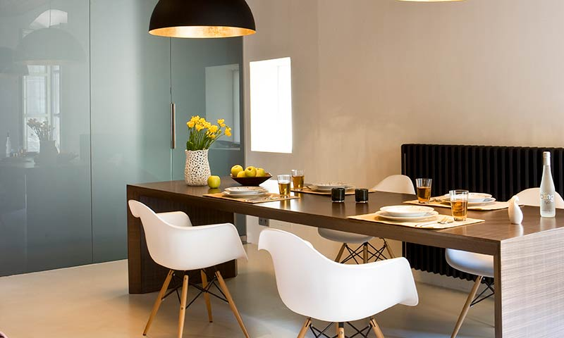 Un piso clásico con 'look' contemporáneo
