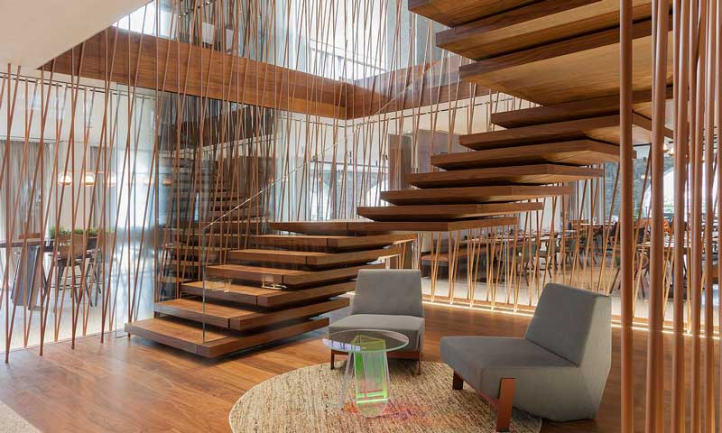 Dos hoteles de dise o con un interiorismo nico foto 1 for Hoteles con habitaciones comunicadas playa