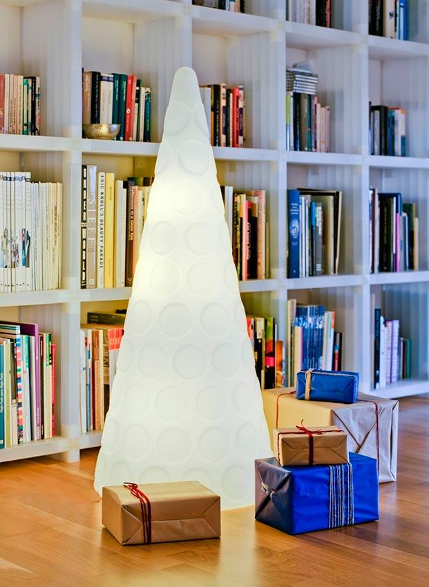 8 rboles de navidad elegantes y originales con cu l te - Arboles de navidad elegantes ...