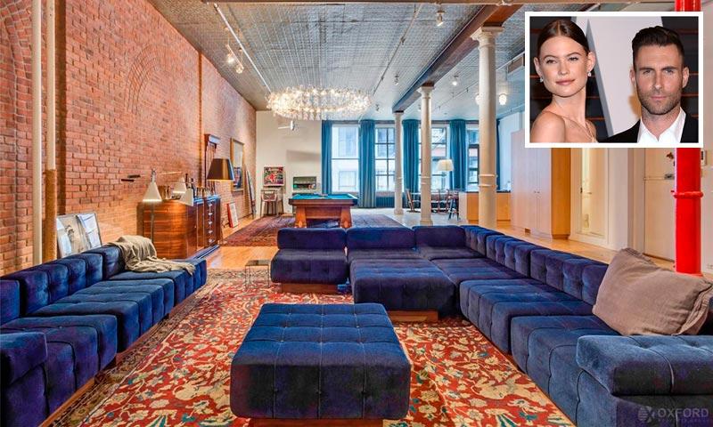 ¿Te gusta el estilo industrial? Entramos en el 'loft' que Adam Levine y Behati Prinsloo vendieron el año pasado