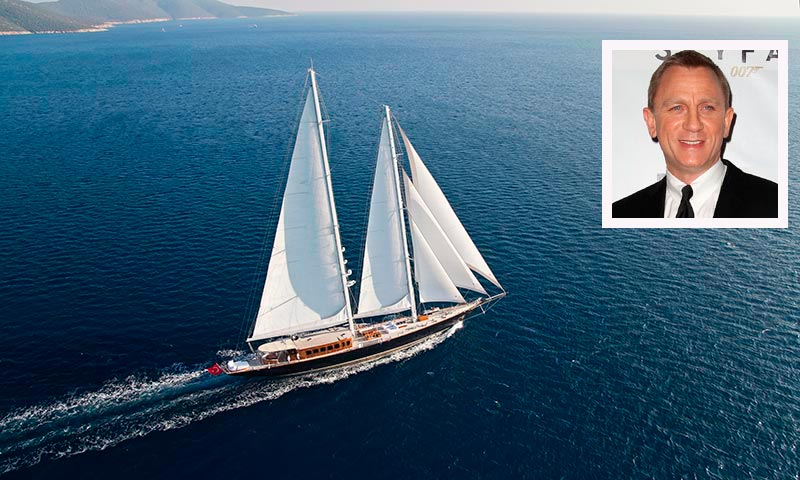 El lujoso velero de la película 'Skyfall', a la venta por 8,85 millones de euros, ¿quieres subir a bordo?