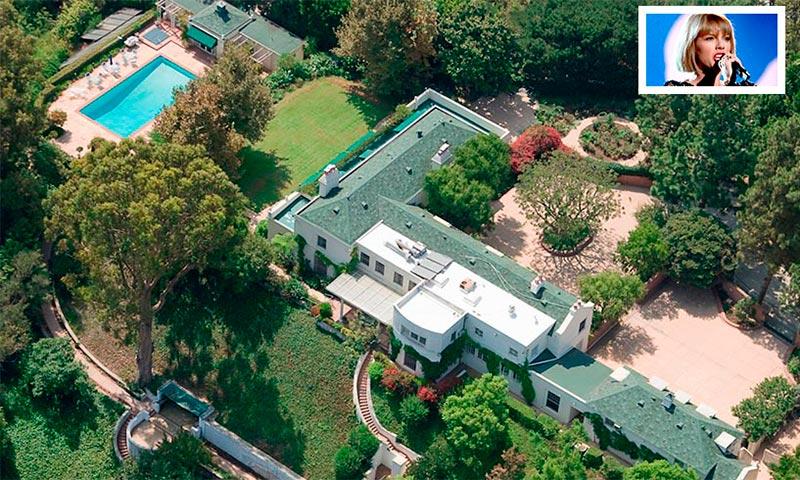 ¿Quieres conocer la nueva casa de Taylor Swift en Beverly Hills?