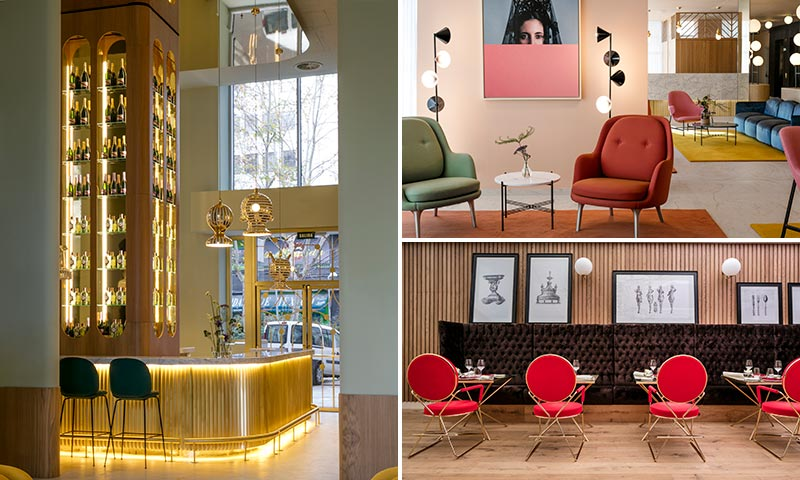 Tres hoteles de dise o for Hoteles diseno espana