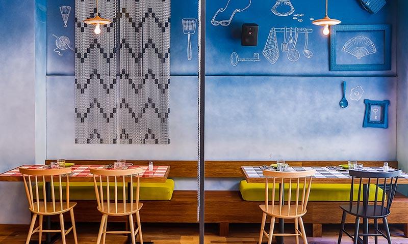 Cuatro restaurantes donde diseño y cocina caminan juntos