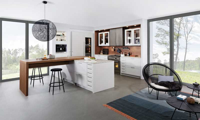 Ideas para montar un office en la cocina