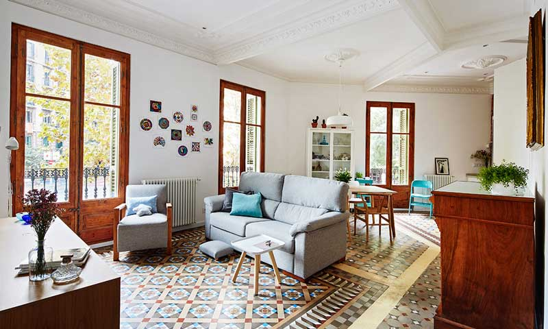 Una casa modernista con un interiorismo n rdico for Decoracion piso vintage