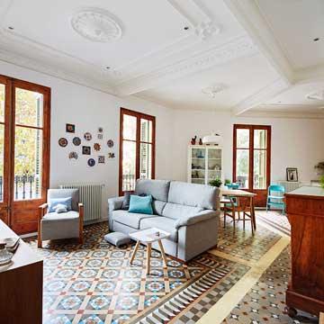 Un piso con alma modernista y esp ritu n rdico foto 2 for Decoracion pisos reales