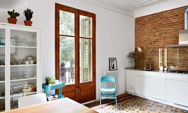Un piso con alma modernista y esp ritu n rdico foto 2 for Decoracion piso eixample
