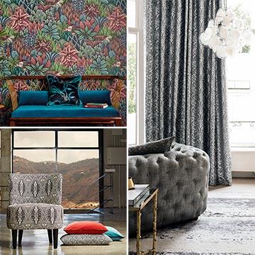 Estas telas y papeles pintados vestir n tu casa este a o foto 9 - Maison decor papeles pintados ...