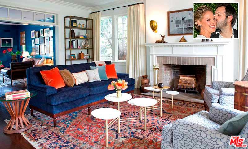 ¿Quieres conocer la mansión colonial que Katherine Heigl ha puesto a la venta?