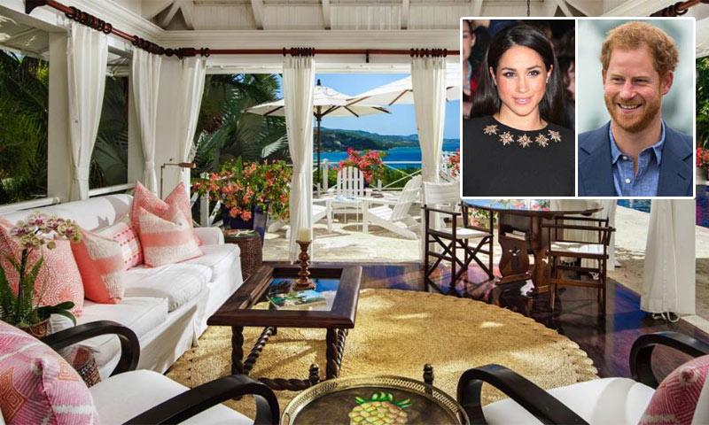 Descubrimos el exclusivo 'resort' en el que se alojan el príncipe Harry y Meghan Markle en Jamaica