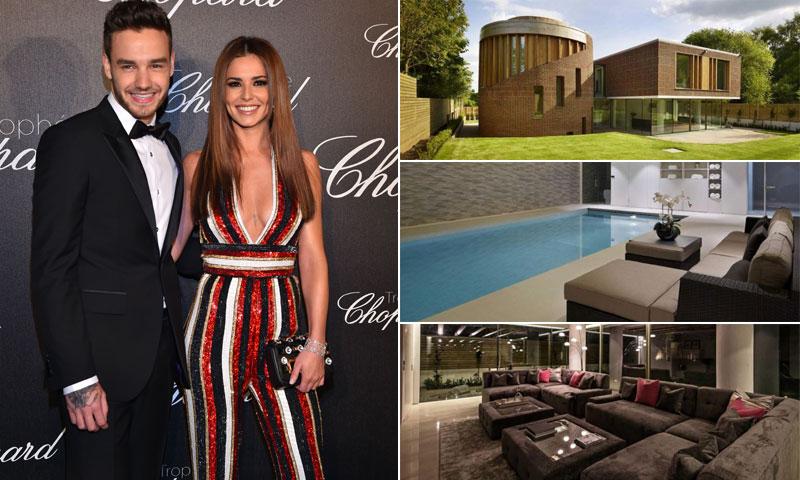 La impresionante mansión que alquila (o vende) Cheryl Cole tras mudarse con Liam Payne en la recta final de su embarazo