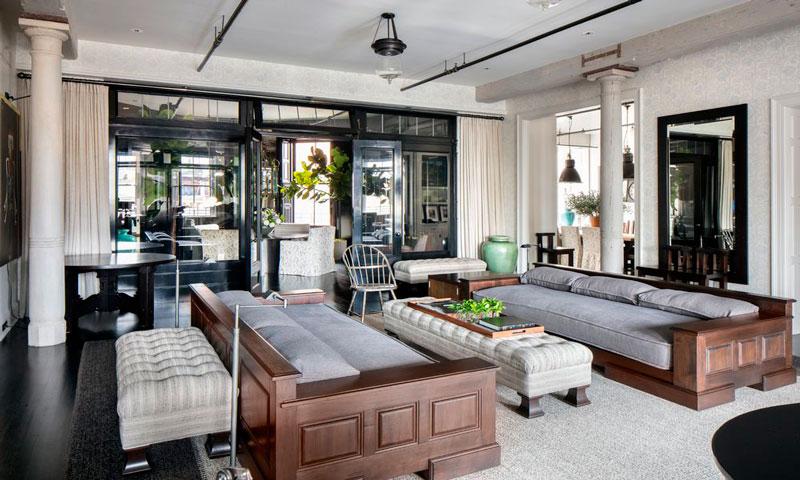 Meg Ryan, una consumada interiorista, reforma y pone a la venta su loft de Nueva York