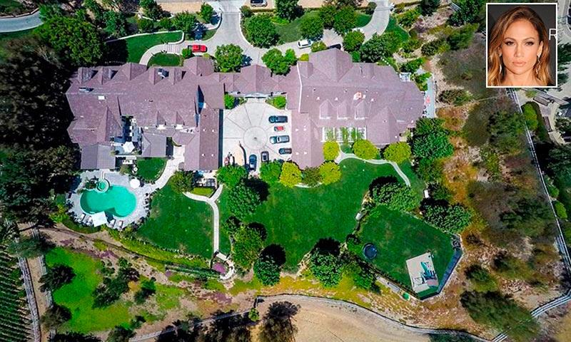 Entramos en la espectacular mansión que Jennifer Lopez acaba de vender en Los Ángeles