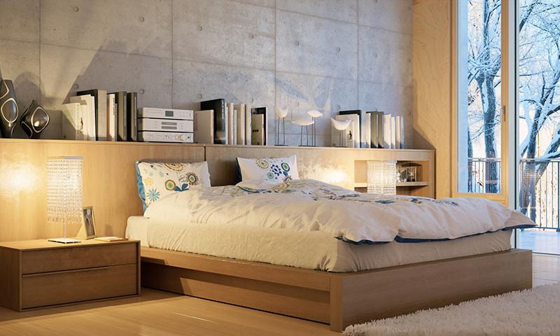 10 ideas creativas y modernas para convertir tu dormitorio for Juego de dormitorio montevideo