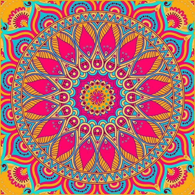Qu significado tienen los colores del mandala - Colores para mandalas ...
