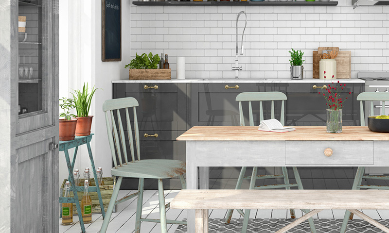 ¿Aún no sabes cómo amueblar tu cocina? ¡Te damos algunos consejos!