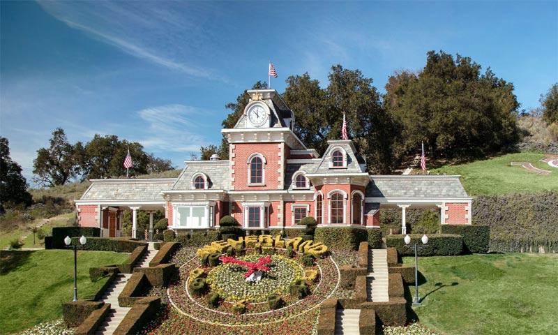 Neverland, el idílico rancho de Michael Jackson, continúa a la venta