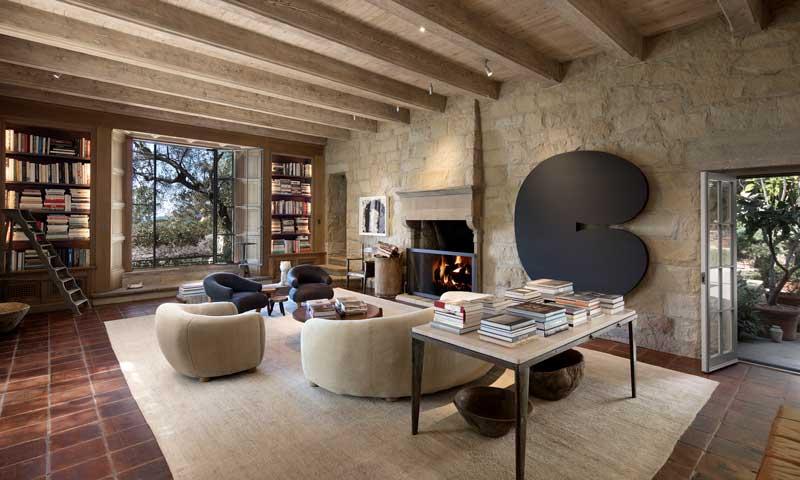 Descubre el estiloso hogar de Ellen DeGeneres y Portia de Rossi antes de que lo vendan