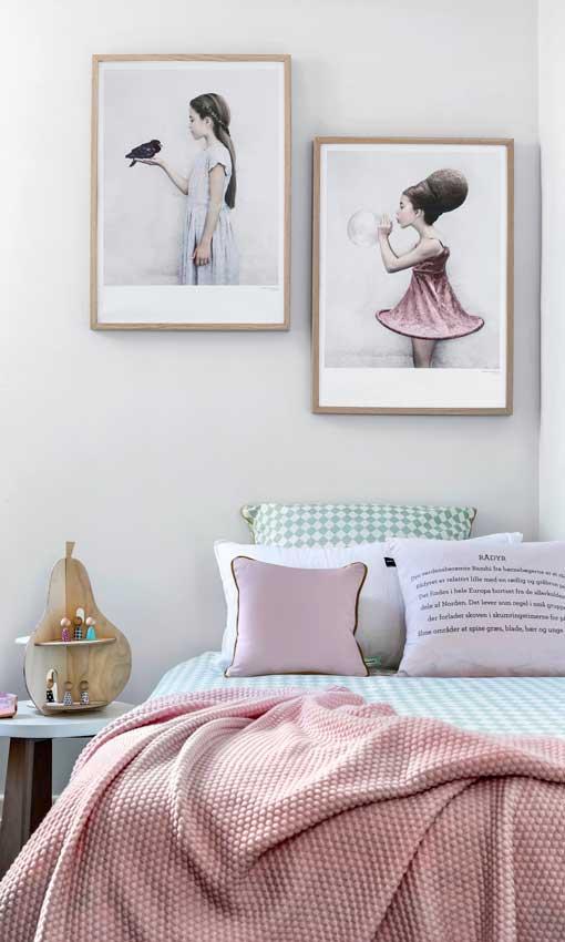 C mo dar un toque dulce a tus interiores n rdicos y for Dormitorio estilo nordico industrial