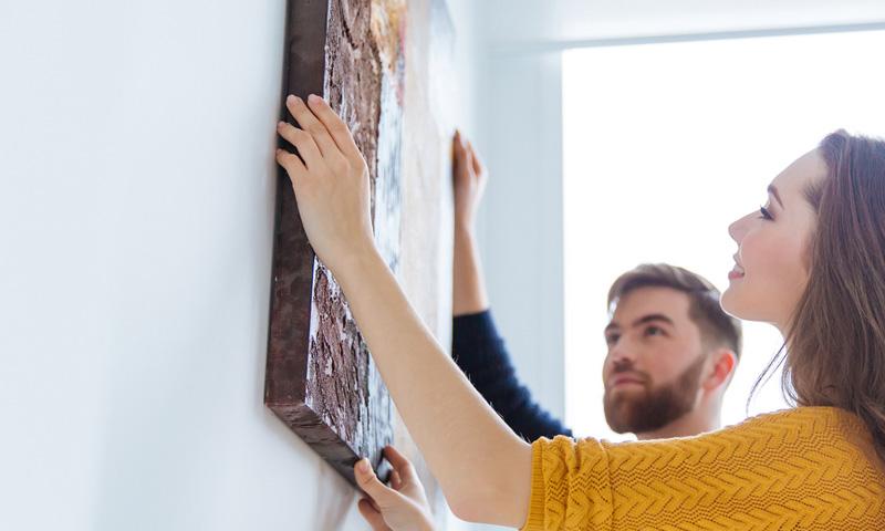 Guía especial sobre la colocación de los cuadros en tu salón