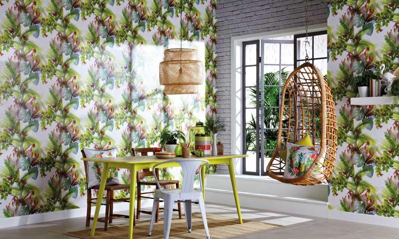 decoraci n tropical la alegr a dentro de casa. Black Bedroom Furniture Sets. Home Design Ideas