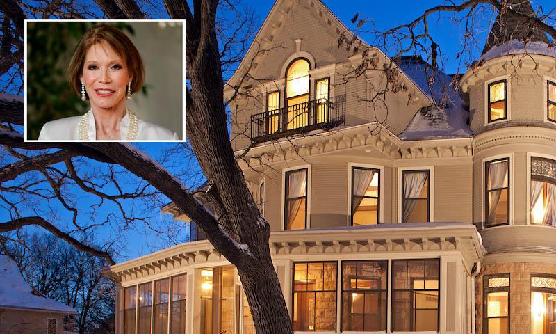 Entramos en la espectacular mansión donde la actriz Mary Tyler alcanzó su fama televisiva