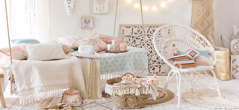 descubre las tendencias en decoraci n de esta primavera en maisons du monde foto. Black Bedroom Furniture Sets. Home Design Ideas