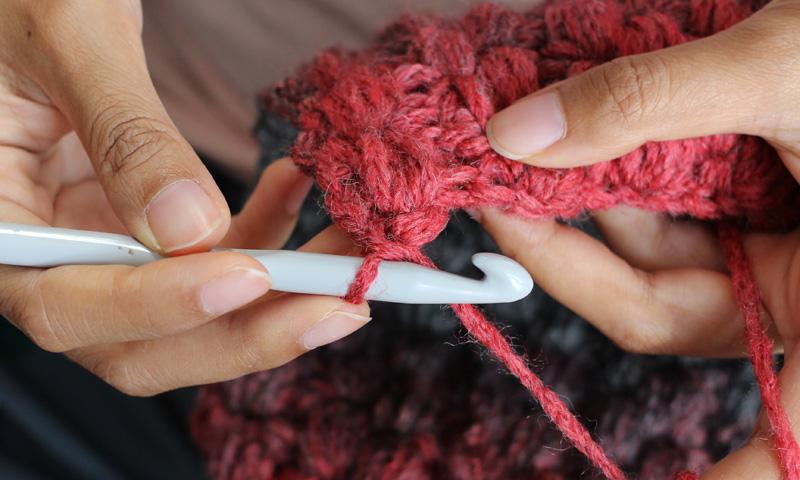 Decora tu casa con elementos de crochet, tricot y punto