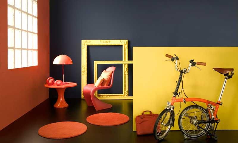 A todo color: Verde, azul y naranja visten tu casa esta temporada