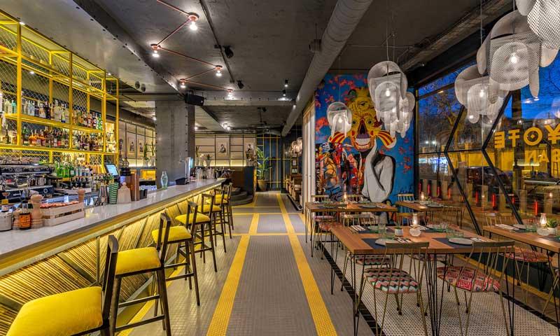 Seis restaurantes de dise o for Diseno de restaurantes